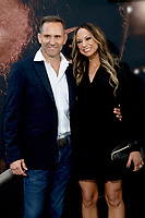 LOS ANGELES - MAR 1:  Chris Bruno and wife at the The Way Back Premiere at the Regal LA Live on March 1, 2020 in Los Angeles, CA