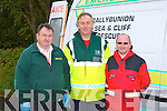 Member's of the Ballybunion Sea and Cliff rescue at the National Hill Climbing Championship on Sunday.
