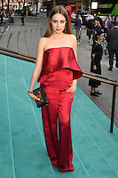 Xenia Tchoumitcheva<br /> arrives for the V&amp;A Summer Party 2016, South Kensington, London.<br /> <br /> <br /> &copy;Ash Knotek  D3135  22/06/2016