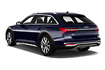 Car pictures of rear three quarter view of a 2020 Audi A6 allroad quattro Base 5 Door Wagon angular rear