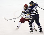 Carl Sneep (BC - 7), James van Riemsdyk (UNH - 21) - The visiting University of New Hampshire Wildcats defeated the Boston College Eagles 4-2 on Saturday, February 21, 2009, at Conte Forum in Chestnut Hill, MA.