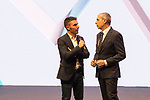 Joakim Rodriguez (ESP) on stage at the official route launch for La Vuelta 19 held in the ADDA auditorium in Alicante. The 74th edition of the Spanish race will take place between August 24th and September 15th 2019, setting out from Salinas de Torrevieja and ending in Madrid. 19th December 2018.<br /> Picture: Unipublic/Antonio Baixauli | Cyclefile<br /> <br /> <br /> All photos usage must carry mandatory copyright credit (© Cyclefile | Unipublic/Antonio Baixauli)