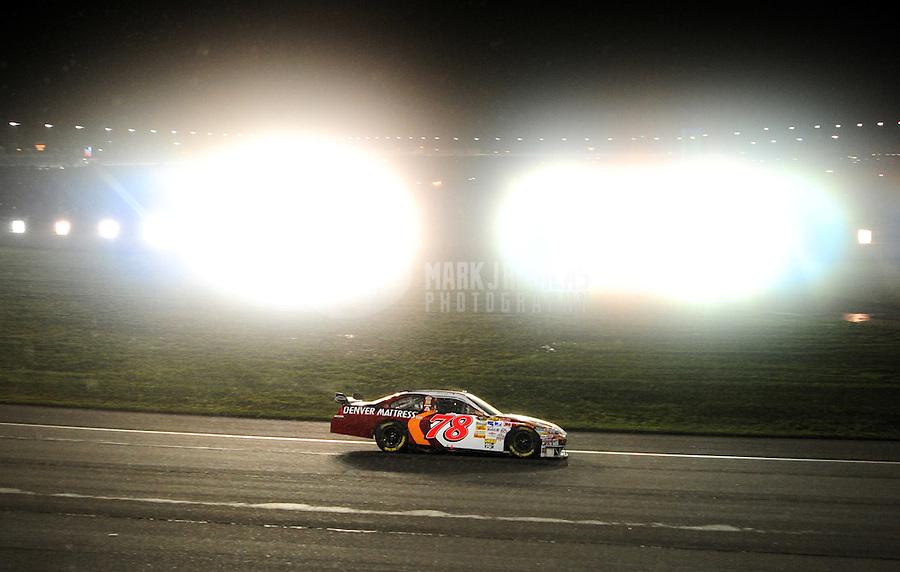 Feb 24, 2008; Fontana, CA, USA; NASCAR Sprint Cup Series driver Joe Nemechek (78) during the Auto Club 500 at Auto Club Speedway. Mandatory Credit: Mark J. Rebilas-US PRESSWIRE
