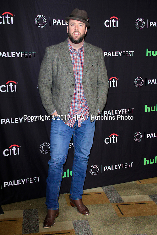 "LOS ANGELES - MAR 18:  Chris Sullivan at the 34th Annual PaleyFest Los Angeles - ""The is Us"" at Dolby Theater on March 18, 2017 in Los Angeles, CA"