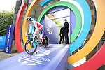 Glasgow 2014 Commonwealth Games<br /> <br /> Amy Roberts (Wales) competing in the Women's time trial race.<br /> <br /> 31.07.14<br /> &copy;Steve Pope-SPORTINGWALES