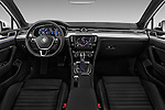 Stock photo of straight dashboard view of 2016 Volkswagen Passat-Variant GTE 5 Door wagon Dashboard