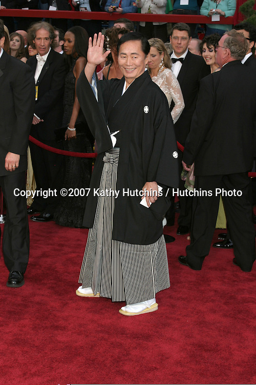 George Takei.79th Annual Academy Awards.Kodak Theater .Hollywood & Highland.Hollywood, CA.February 25, 2007.©2007 Kathy Hutchins / Hutchins Photo....