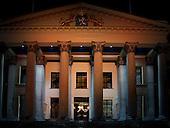 Sfeerverlichting Gerechtshof Leeuwarden, Wilhelminaplein  Leeuwarden