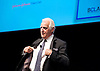 Dr. Frank W. Dick OBE<br /> President of the European Athletics Coaches Association and Chairman of the International Association of Athletics Federations Academy <br /> speaking at a conference in Manchester <br /> 27th May 2011