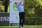 Alexander Noren (SWE) tees off on the 2nd tee to start his round during the Final Day Sunday of the Open de Andalucia de Golf at Parador Golf Club Malaga 27th March 2011. (Photo Eoin Clarke/Golffile 2011)