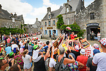 The publicity caravan passes by ahead of the race during Stage 5 of the 2018 Tour de France running 204.5km from Lorient to Quimper, France. 11th July 2018. <br /> Picture: ASO/Bruno Bade | Cyclefile<br /> All photos usage must carry mandatory copyright credit (&copy; Cyclefile | ASO/Bruno Bade)