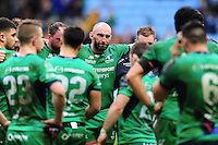 John Muldoon of Connacht looks dejected after the match. European Rugby Champions Cup match, between Wasps and Connacht Rugby on December 11, 2016 at the Ricoh Arena in Coventry, England. Photo by: Patrick Khachfe / JMP