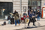 Band Playing In Freedom Square