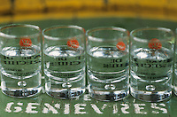 Europe/France/59/Nord/Env de Lille/Wambrechies: Distillerie Claeyssens datant de 1817 - Verres de Genièvre - Geniévre de Flandre et d'Artois