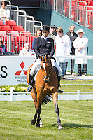 AUS-Sam Griffiths (PAULANK BROCKAGH) INTERIM-6TH: DRESSAGE - Day 1: 2016 GBR-Mitsubishi Motors Badminton Horse Trials CCI4* (Wednesday 4 May) CREDIT: Libby Law COPYRIGHT: LIBBY LAW PHOTOGRAPHY
