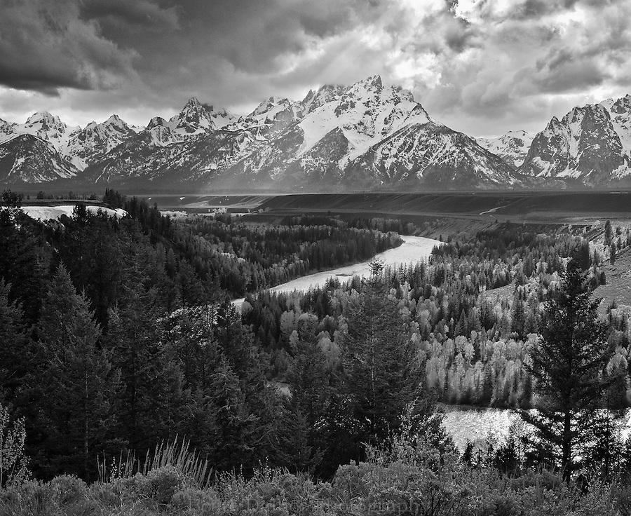 Snake River overlook, Grand Tetons, Wyoming