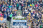 Ballinasloe team celebrate after defeating Kenmare in the Junior All Ireland Club Final in Croke park on Sunday.