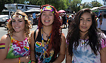Victoria, Arielle and Ana at the Northern Nevada Pride Parade and Festival in Reno on Saturday, July 23, 2016.