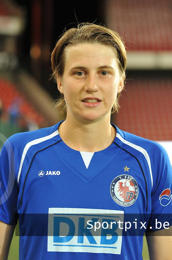 UEFA Women's Champions League: Standard de Liege v Turbine Potsdam ; Round of 32, First leg - 26/09/2012 - 19:00 CET - Stade Maurice Dufrasne - Liege :.Heleen Jaques.foto JOKE VUYLSTEKE / Vrouwenteam.be