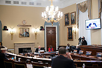 Dr. Robert Redfield, Director of the Centers for Disease Control and Prevention, speaks during a United States House Appropriations Subcommittee hearing on Capitol Hill in Washington, D.C., U.S., on Thursday, June 4, 2020. <br /> Credit: Al Drago / Pool via CNP/AdMedia