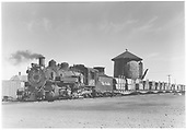 K-37 #492 with flat cars.<br /> D&amp;RGW