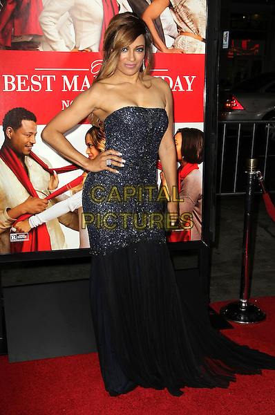 05 November 2013 - Hollywood, California - Melissa De Sousa at &quot;The Best Man Holiday&quot; Los Angeles Premiere held at TCL Chinese Theatre on November 5th, 2013<br /> CAP/ADM/KB<br /> &copy;Kevan Brooks/AdMedia/Capital Pictures