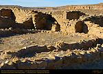 Rinconada BC51 Chacoan Small House, Anasazi Hisatsinom Ancestral Pueblo Site, Chaco Culture National Historical Park, Chaco Canyon, Nageezi, New Mexico