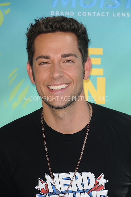 WWW.ACEPIXS.COM . . . . .  ....August 7 2011, LA....Zachary Levi arriving at the 2011 Teen Choice Awards at the Gibson Amphitheatre on August 7, 2011 in Universal City, California....Please byline: PETER WEST - ACE PICTURES.... *** ***..Ace Pictures, Inc:  ..Philip Vaughan (212) 243-8787 or (646) 679 0430..e-mail: info@acepixs.com..web: http://www.acepixs.com