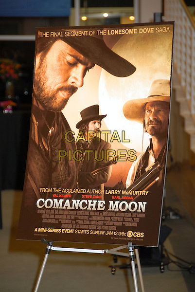 "ATMOSPHERE.""Comanche Moon"" Screening at The Paley Center for Media, Beverly Hills, California, USA,.8 January 2008..poster.CAP/ADM/BP.©Byron Purvis/AdMedia/Capital Pictures."