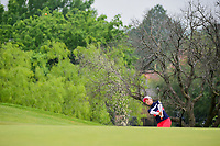 Chella Choi (KOR) hits from the trap on 2 during round 3 of  the Volunteers of America Texas Shootout Presented by JTBC, at the Las Colinas Country Club in Irving, Texas, USA. 4/29/2017.<br /> Picture: Golffile | Ken Murray<br /> <br /> <br /> All photo usage must carry mandatory copyright credit (&copy; Golffile | Ken Murray)