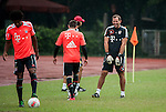 Toni Tapalovic of Bayern Munich during a training session ahead the friendly match against VfL Wolfsburg as part of the Audi Football Summit 2012 on July 26, 2012 at the Tianhe Sports Stadium in Guangzhou, China. Photo by Victor Fraile / The Power of Sport Images