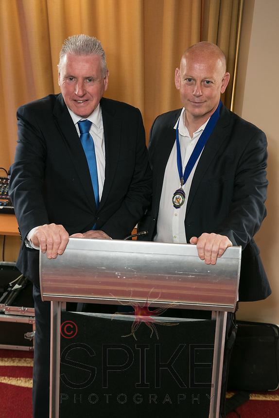 Speaker Vernon Coaker MP with NCBC President Ian Roberts