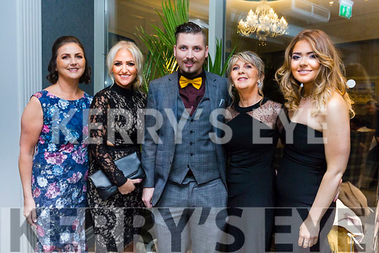 At the Austin Stacks Centenary Gala Dinner in the Rose Hotel on Saturday were Mary Ellen Hurley, Kayleigh O'mahony, Robbie Hurley, Phil O'Mahony, Amy Conway