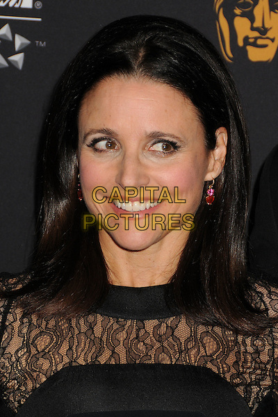 30 October 2014 - Beverly Hills, California - Julia Louis-Dreyfus.  BAFTA Britannia Awards 2014 held at the Beverly Hilton Hotel.  <br /> CAP/ADM/BP<br /> &copy;Byron Purvis/AdMedia/Capital Pictures