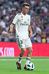 Real Madrid Sergio Lopez during Santiago Bernabeu Trophy match at Santiago Bernabeu Stadium in Madrid, Spain. August 11, 2018. (ALTERPHOTOS/Borja B.Hojas)
