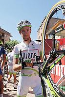 Thierry Hupond before the stage of La Vuelta 2012 between La Robla and Lagos de Covadonga.September 2,2012. (ALTERPHOTOS/Acero) /NortePhoto.com<br /> <br /> **CREDITO*OBLIGATORIO** <br /> *No*Venta*A*Terceros*<br /> *No*Sale*So*third*<br /> *** No*Se*Permite*Hacer*Archivo**<br /> *No*Sale*So*third*