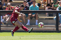 Stanford, CA - September 4, 2016:  Michelle Xiao during the Stanford vs Marquette Women's soccer match in Stanford, California.  The Cardinal defeated the Golden Eagles 3-0.