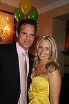 As The World Turns' Michael Park & Terri Colombino at the benefit Angels for Hope which benefits St. Jude Children's Research Hospital on May 29, 2009 at the Estate at Florentine Gardens, Rivervale, NJ. (Photo by Sue Coflin/Max Photos)