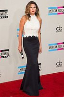LOS ANGELES, CA - NOVEMBER 24: Daisy Fuentes arriving at the 2013 American Music Awards held at Nokia Theatre L.A. Live on November 24, 2013 in Los Angeles, California. (Photo by Celebrity Monitor)