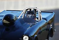 Jul 28, 2017; Sonoma, CA, USA; NHRA super gas driver Rodney Souza during qualifying for the Sonoma Nationals at Sonoma Raceway. Mandatory Credit: Mark J. Rebilas-USA TODAY Sports