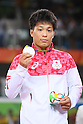 Shinobu Ota (JPN), <br /> AUGUST 14, 2016 - Wrestling : <br /> Men's Greco-Roman 59kg Medal Ceremony <br /> at Carioca Arena 2 <br /> during the Rio 2016 Olympic Games in Rio de Janeiro, Brazil. <br /> (Photo by YUTAKA/AFLO SPORT)