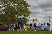 Jason Day (AUS) watches his tee shot on 3 during day 2 of the World Golf Championships, Dell Match Play, Austin Country Club, Austin, Texas. 3/22/2018.<br /> Picture: Golffile | Ken Murray<br /> <br /> <br /> All photo usage must carry mandatory copyright credit (&copy; Golffile | Ken Murray)