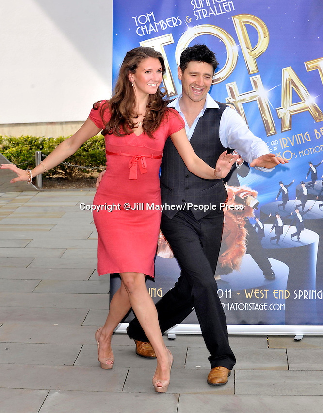 Milton Keynes - Photocall to Launch a new production of 'Top Hat the Musical' at Milton Keynes Theatre, Bucks - May 6th 2011.