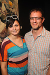 Reema and Jeff Forster at the art openings of Carter Ernst, Ken Mazzu and Pat Johnson  at the Art Car Museum Saturday June 29, 2013.(Dave Rossman photo)