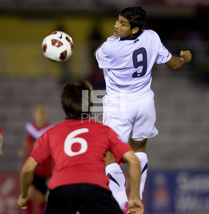 Mario Rodriguez. The United States defeated Canada, 3-0, during the final game of the CONCACAF Men's Under 17 Championship at Catherine Hall Stadium in Montego Bay, Jamaica.