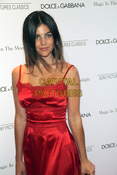NEW YORK, NY - JULY 17: Julia Restoin Roitfeld at the 'Magic In The Moonlight' premiere at the Paris Theater on July 17, 2014 in New York City.  <br /> CAP/MPI/RW<br /> &copy;RW/ MediaPunch/Capital Pictures