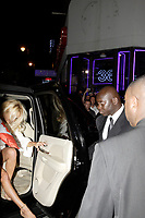 "Montreal (Qc) CANADA - June 7 2008-<br /> Canadian born ""actress"" Pamela Anderson get out of a massive SUV, onto the red carpet of a club in Montreal club who paid her 100, 000 $ to host a  fashion contest.<br /> <br /> She refused all planned interview and photo op and managed to get the local press angry.<br /> One article in today (June 9) Journal de Montreal was very critical of the star attitude and wondered was star acted like this in Montreal and not in New-York or Los Angeles.<br /> <br /> <br /> <br /> photo by  Images Distribution"