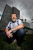 Computer game Tetris creator Alexey Pajitnov on Moscow's Novy Arbat Street..Picture by Justin Jin.