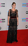 LOS ANGELES, CA. - November 21: Heidi Klum arrives at the 2010 American Music Awards held at Nokia Theatre L.A. Live on November 21, 2010 in Los Angeles, California.