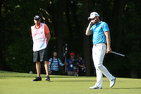 Danny Willett (ENG) drops a shot on the 16th during Round Three of the 2016 BMW PGA Championship over the West Course at Wentworth, Virginia Water, London. 28/05/2016. Picture: Golffile   David Lloyd. <br /> <br /> All photo usage must display a mandatory copyright credit to © Golffile   David Lloyd.